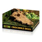 Exo Terra Crocodile Skull - Decorative skull for the terrarium