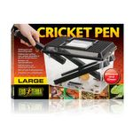 Exo Terra Cricket Pen - Faunabox for live insects incl. donor tube 001