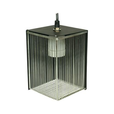 Hobby Reflector Lamp Holder - Protective grid for terrarium lamps