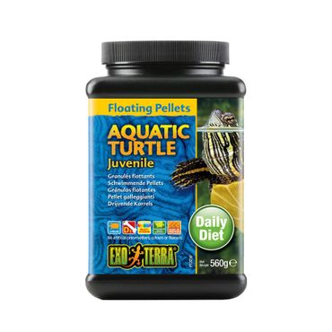Exo Terra Aquatic Turtle Pellets for Growing Water Turtles