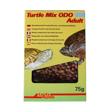 Lucky Reptile Turtle Mix ODO Musk Turtle Food