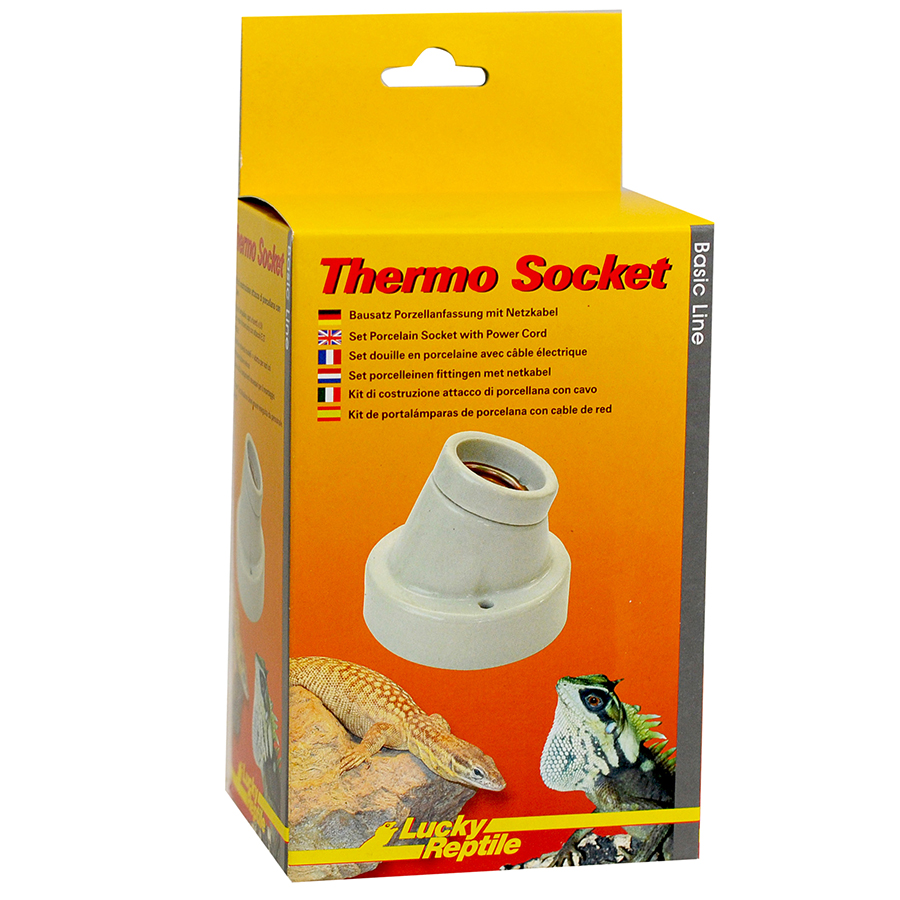 Lucky Reptile Thermo Socket Ceramic Socket with Cable